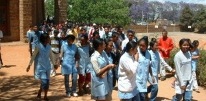 Młodzież College`u St.Michel, Antan.Madagaskar