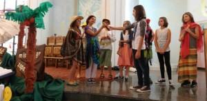 Inscenizacja Pod hasłem Radość Ewangelii źródłem misyjnego zapału
